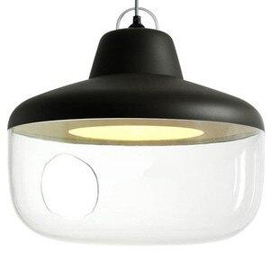 Image 3 - Plafonnier suspendu en métal, design nordique moderne, joli luminaire de personnalité, idéal pour une chambre denfant, un Restaurant, une chambre à coucher, livraison gratuite