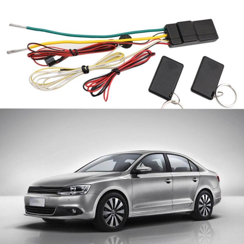 herorider 2.4 G Car Immobilizer System Put Remote In Pocket Lock Unlock Engine Intelligent Anti-Hijacking Circuit 12V Universal