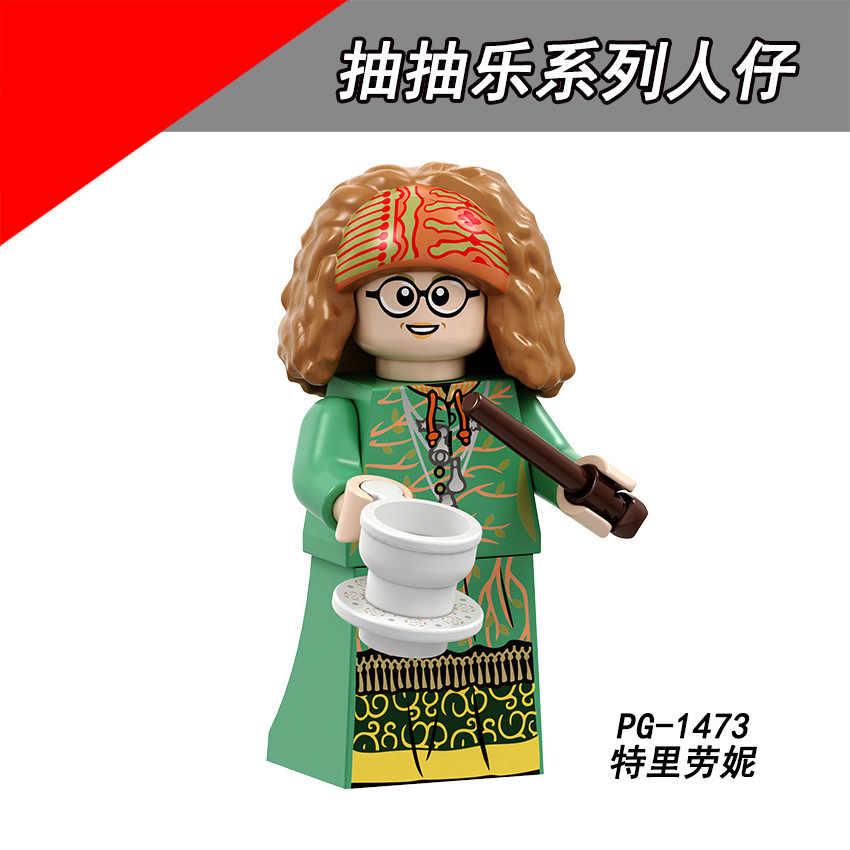 PG8192 Abbinato Legoing di Pompaggio Harry Pottering Trelawneying Assemblare Blocchi di Costruzione Cervello Umano Gioco per Bambini Regalo