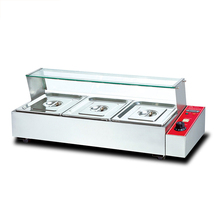 BM-3 Electric Hot Soup Pool Heat Insulation Stainless Steel Table Furnace
