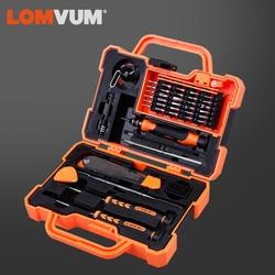 Lomvum Set di Cacciaviti Multifunzionale di Precisione Household Tool Set Tool Kit di Riparazione Computer di Famiglia Cacciavite Magnetico Set
