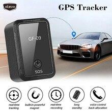 미니 gps 트래커 GF 09 app 제어 gps 로케이터 차량 자동차 사람 위치 스파이 장치 안티 분실 기록 gps 차량 탐지기