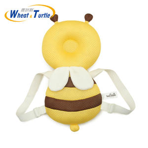 Safety-Pad Back-Protector Cormer-Guards Bee-Angel-Beetle Baby-Head Headgear-Newest Newborn