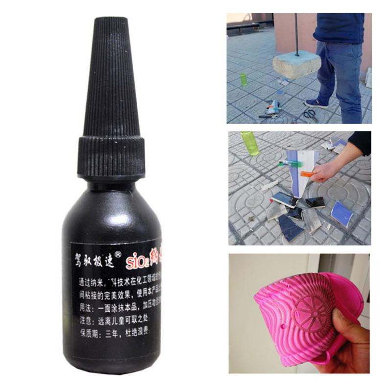 30ml Mighty Tire Repair Glue Welding Agent Fast Repair And Curing Nano-liquid Glue Nano Liquid Instant Strong Glue Car Cleaning