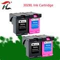 Совместимость 302XL Замена для hp 302 для hp 302 XL чернильный картридж с чернилами hp Deskjet 1110 1111 1112 2130 2131 принтер