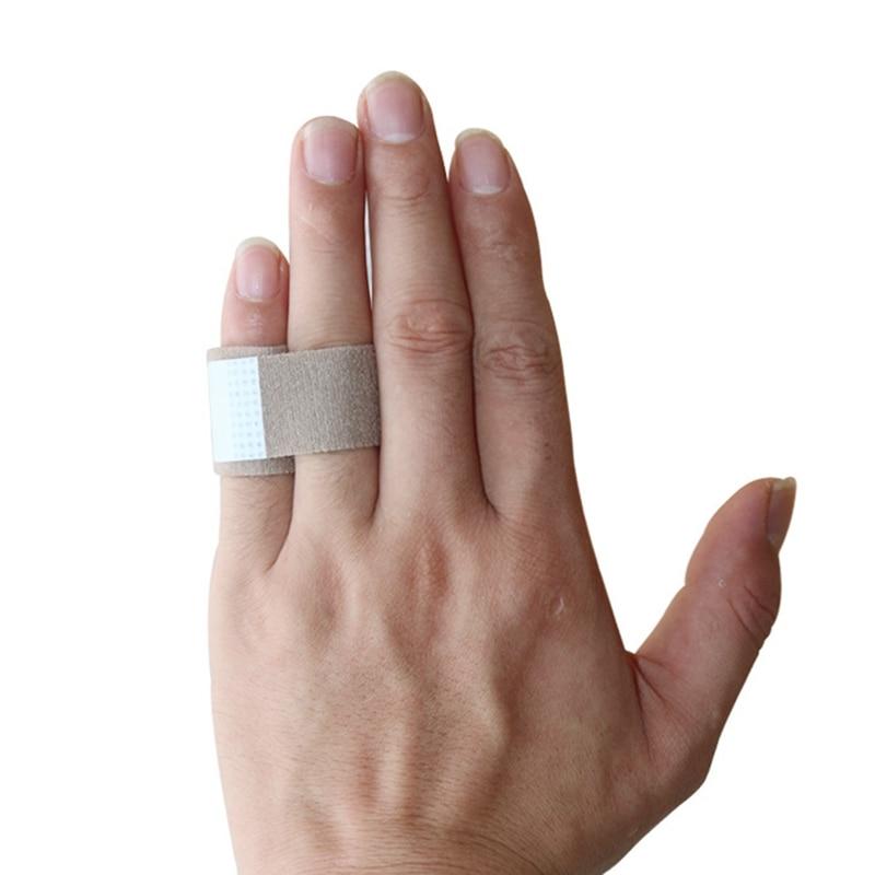 1Pc Fabric Toe Finger Straightener Hammer Toe Valgus Corrector Bandage Toe Separator Splint Wrap Foot Stretcher Care Tool