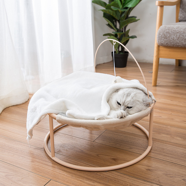 Hot Sale Pet Hammock Cats Beds Indoor Cat House Mat for Warm Small Dogs Bed Kitten Window Lounger Cute Sleeping Mats Products 3
