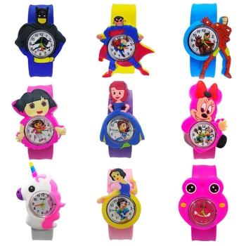 12 Kinds Of Anime Fashion Casual Children's Watches Kids Girl Boy Children Watch Birthday Gift Student Clock Child Quartz Watch