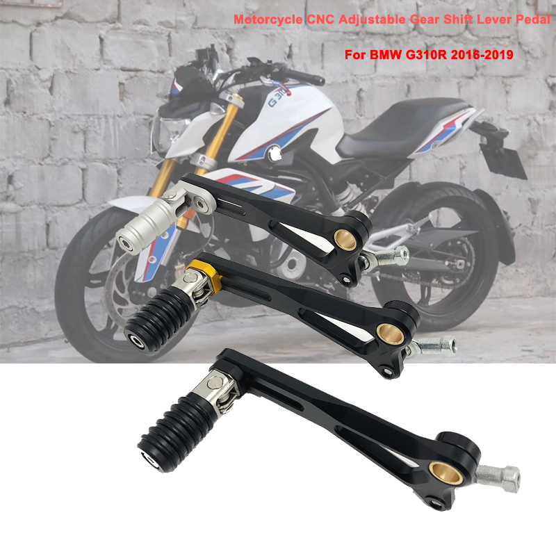 For BMW G310R G310 R <font><b>G</b></font> <font><b>310R</b></font> 2016 2017 2018 2019 Motorcycle CNC Aluminum Adjustable Folding Gear Shifter Shift Pedal Lever image