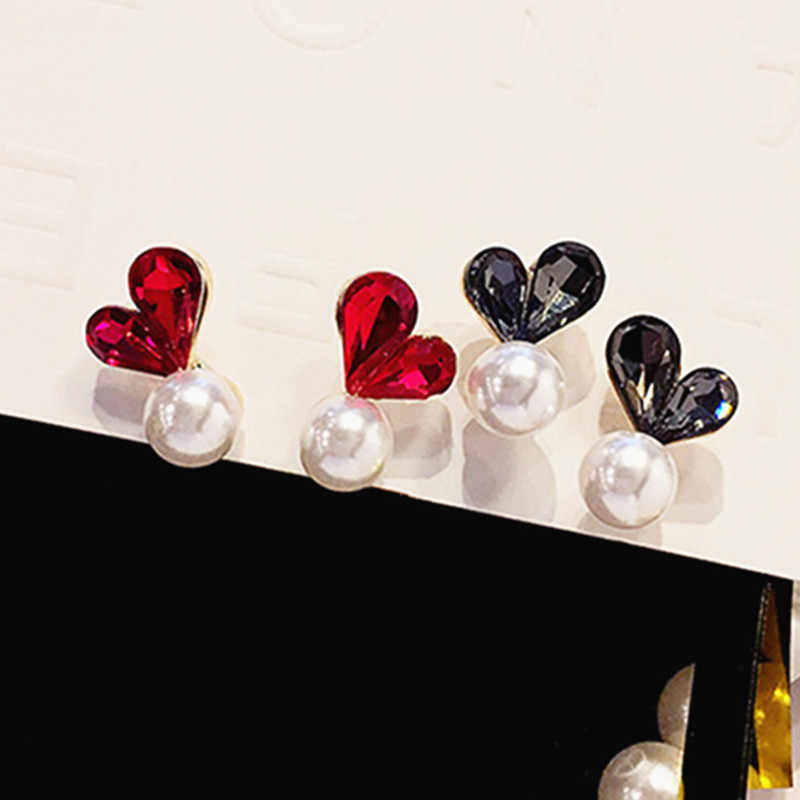 Fashion elegant temperament heart-shape earring jewelry Peach heart earrings fine jewelry accessories