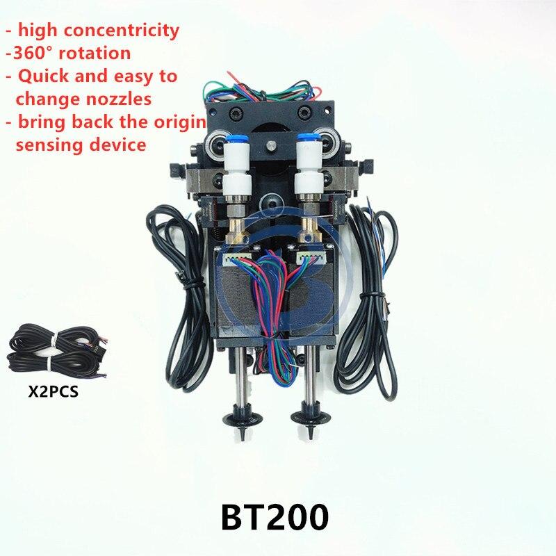 BT200 SMT DIY mountor コネクタ Nema8 中空軸ピック場所ダブルヘッド  グループ上の 家のリフォーム からの 空気動力部品 の中 1
