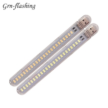 1 5 10pcs 24 LEDs Mini 5V USB LED Night Light 12W Table desk Lamp Portable flashlight light For Power Bank Laptop Camping