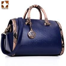 2019 Fashion Handbags Women Snake Print Single Shoulder Bag Black/Red/Blue Lady bag crossbody Hot