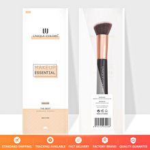 U102 Tapered Foundation Brush Base  Blending Contour Luxe Rose gold Unique Colors Professional Makeup Tools