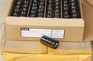 Image 2 - 2PCS NEW ELNA ALP 12000UF/56V 30X55MM 56V12000UF Gold filter electrolytic capacitor 56V 12000UF 85 degrees 12000UF56V