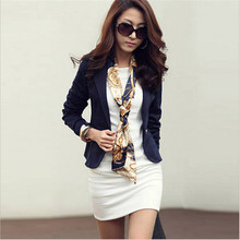 Women's Casual Spring and Autumn Korean Style Small Suit Jacket Shorts