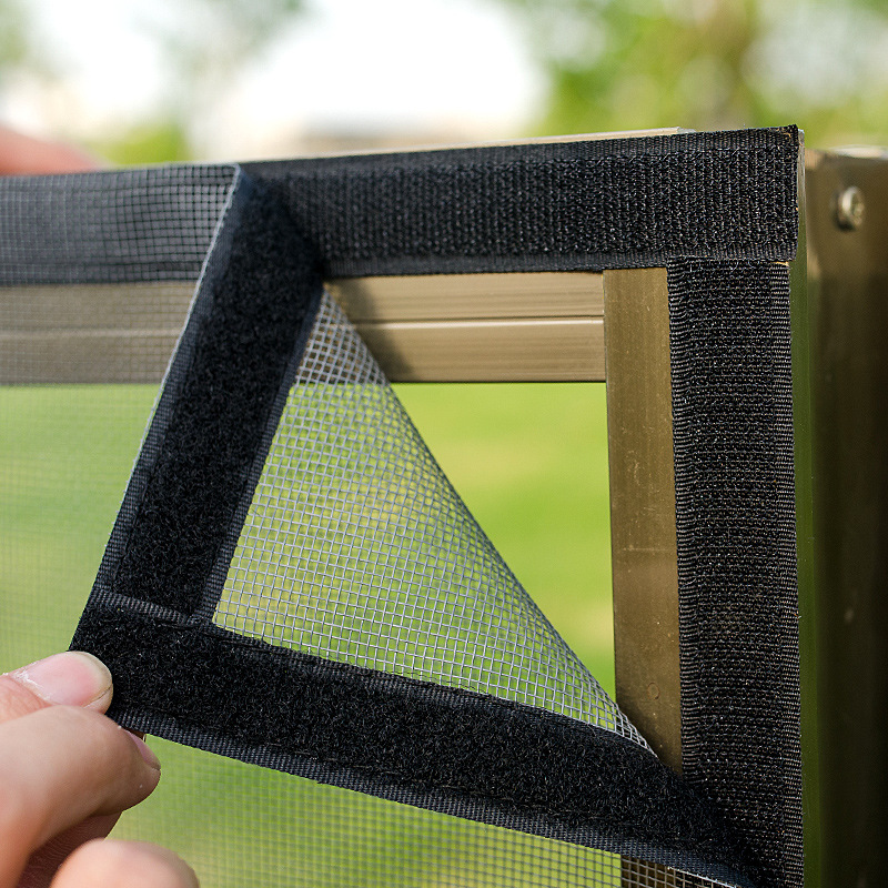 Inset Window Screen Mesh, Air Tulle Adjustable Summer Invisible Anti-Mosquito net Fiberglass Removable Washable Customize Screen 2