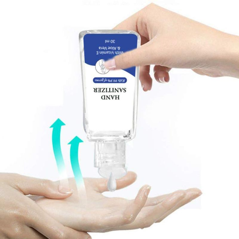 Portable Hand Gel Hand Sanitizer Anti-Bacteria Moisturizing Fruit-Scented 30ml