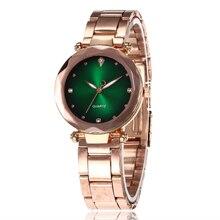 2020 Luxury Watch for Women Stylish Gold Belt Clock Ladies Wrist Watches Crystal Female Quartz Fashion Women's Wristwatch