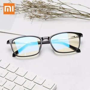 Xiaomi youpin ts tr óculos de bloqueio da luz azul, lente clara, óculos de proteção da radiação, portátil, para computador