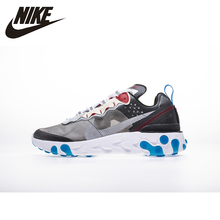 NIKE REACT ELEMENT 87 Man Sneakers Leisure Shoes Man Running Shoes # Aq1090