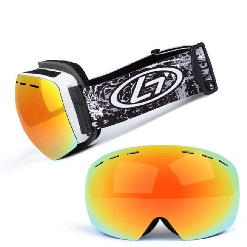 Óculos de Esqui Óculos de Esqui para Snowboard Óculos para Neve Anti-nevoeiro para Snowboard Proteção Esqui Snowmobile Inverno Esporte Masculino uv