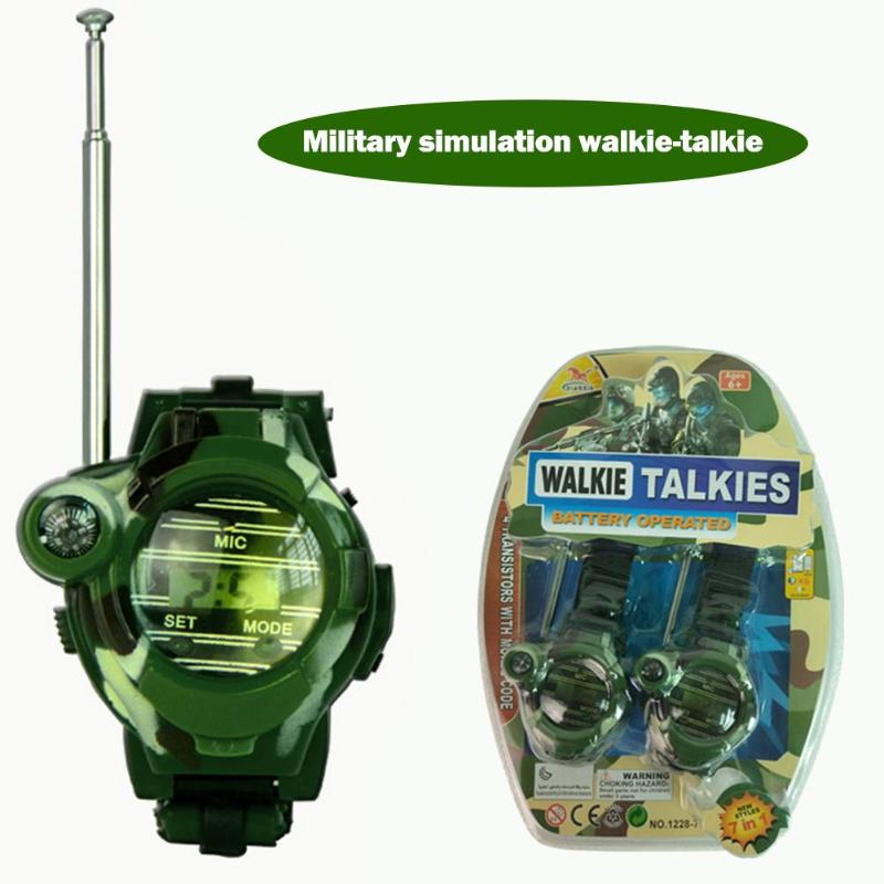 Multifunctional Walkie Talkie Watches Lightweight Long Intercom Distance Camo Print Toy Necessary Decompression Fun Toys