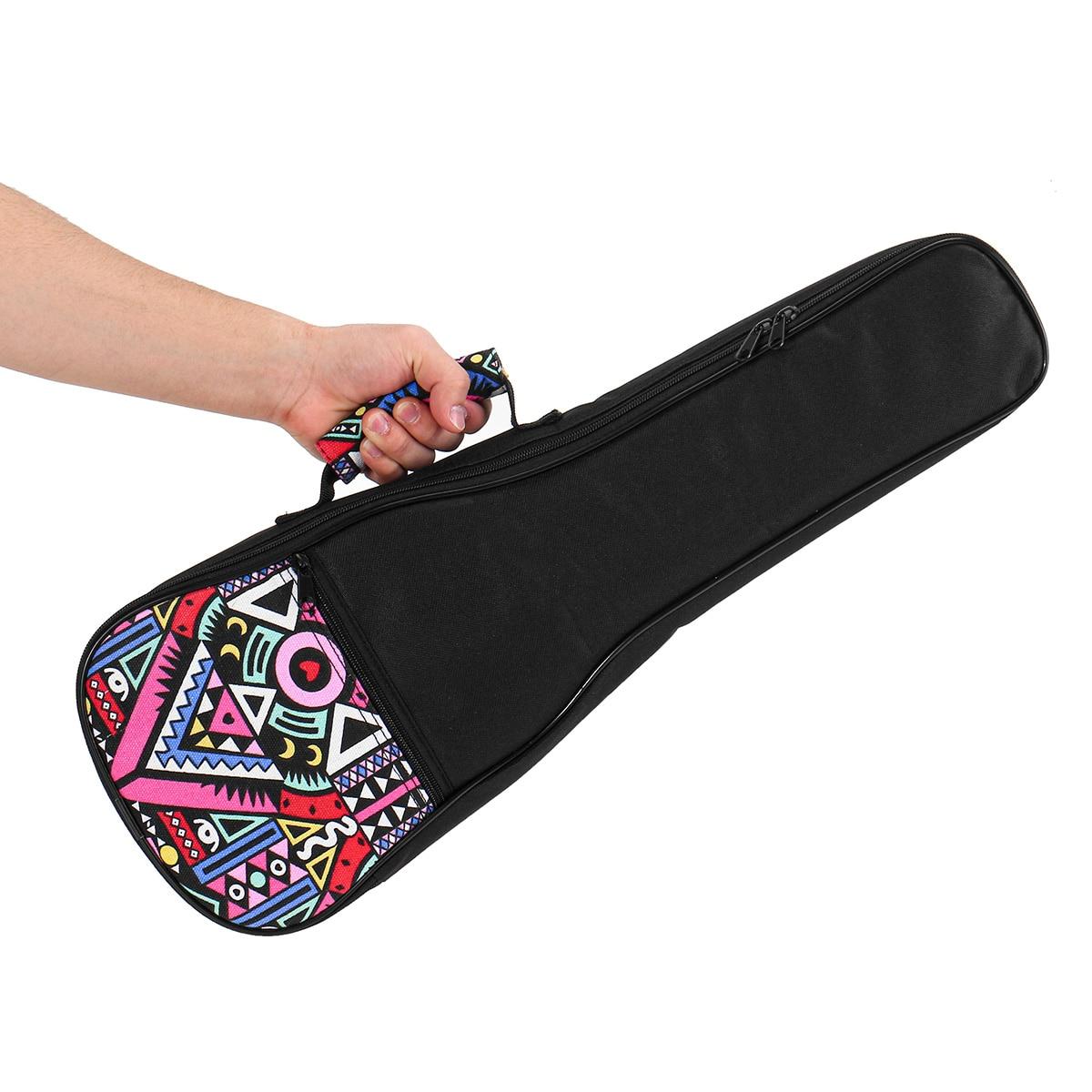 Portable Ukulele Bag Instrument Padded Gig Carry Bag Concert Carry Case Cover For Ukulele Guitar Parts Accessories 21/23/26 Inch