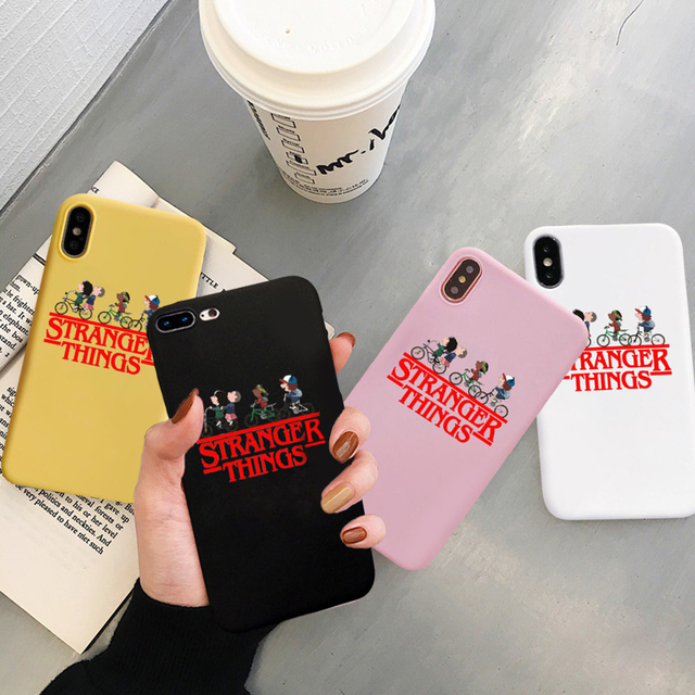 STRANGER THINGS IPHONE CASE (4 VARIAN)