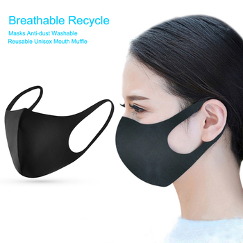 1pc Anti Flu Dust Mask Breathable Recycle Masks Anti-dust Washable Reusable Unisex Mouth Muffle Dustproof Protective Mask