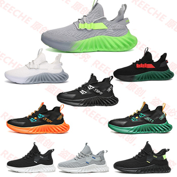 Breathable Running Shoes 46 Light Men's Sports Shoes 45 Large Size Sneakers Fashion Walking Women's Couple Jogging Casual Shoes 2