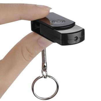 1080P HD Camcorder Motion Detection IR Night Vision Cam Mini DV DVR U Disk USB Camera 0 3mp mini ir night vision webcam cctv face detection usb camera with driver and software