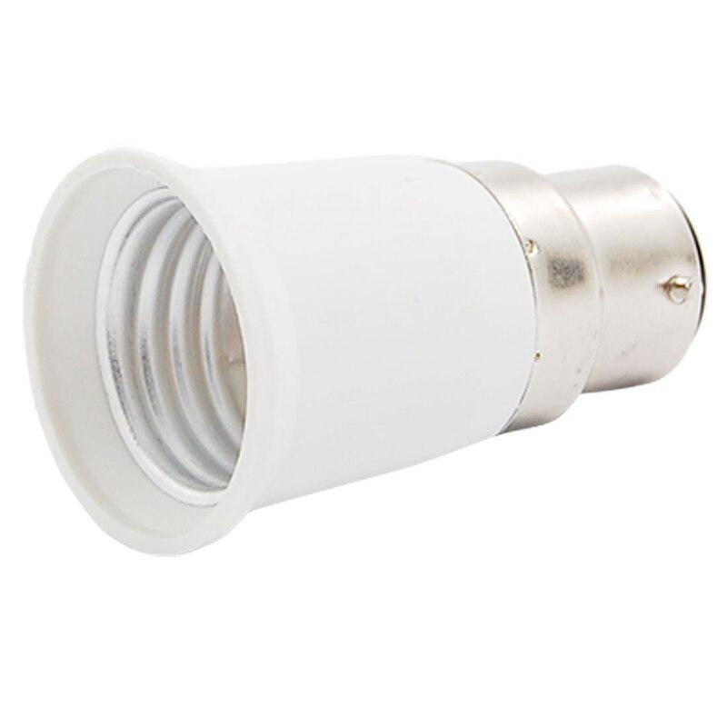 B22 to E27 Light Lamp Bulb Socket Adapter Convertor New