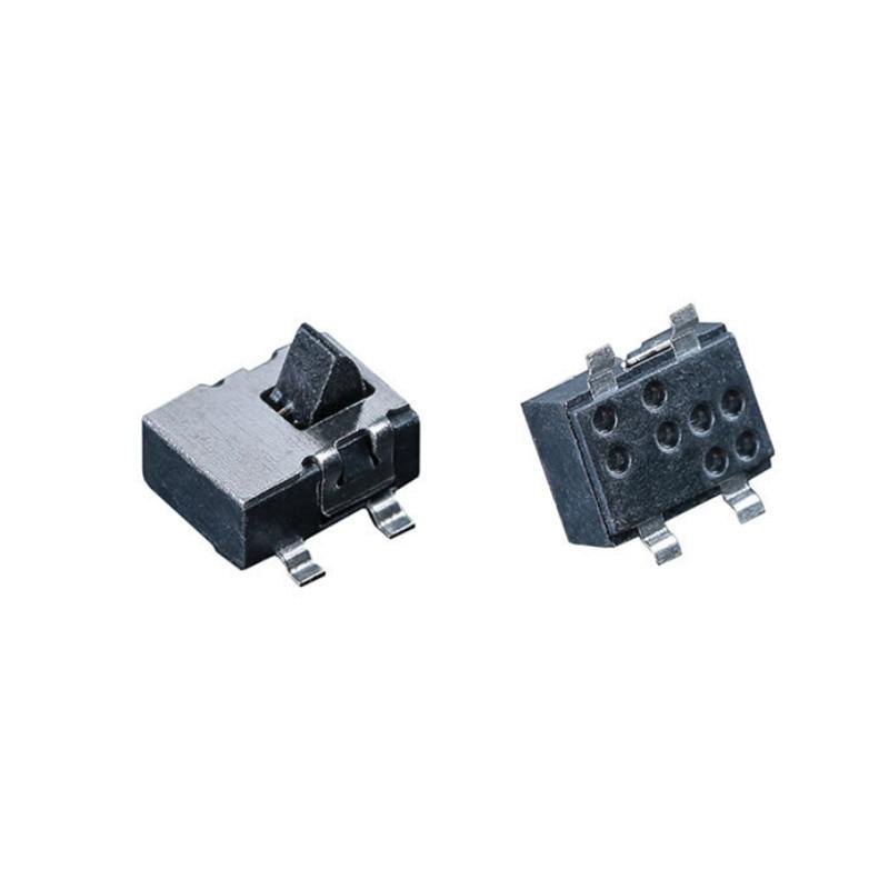 10pcs 4 Pin Mini Slide Switch Reset Micro Toggle Switch Miniature Switch   Humidifier  Detection Switch