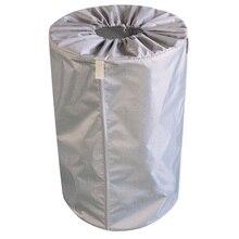 Мешок для садовых отходов, сливное отверстие, ткань Оксфорд, для хранения листьев, для мусора, складной держатель, многоразовая очистка, для двора, газона, 30л, Bagger, для бассейна
