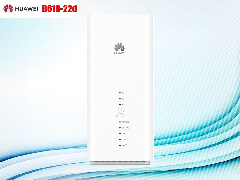 Huawei déverrouiller B618 B618S-22d Cat11 600Mbps 4G LTE CPE WiFi routeur soutien LTE B1/3/7/8/20/38 et VoIP VoLTE