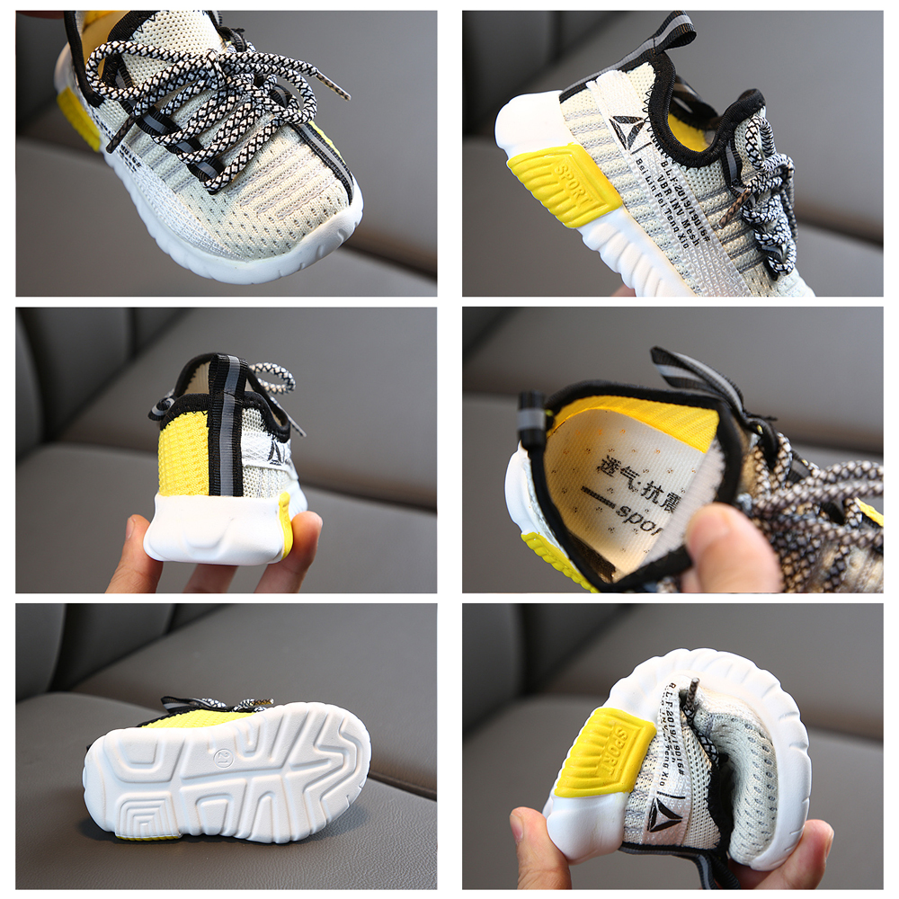 Size 21-30 Kids Shoes Children Sneakers for Girls Children's Casual Sneakers Breathable Running Sports Shoes Basket Fille 1