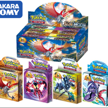 408 шт Такара TOMY Pet Pokemon Cards Высококачественная подарочная коробка Pokemon Cards игрушка для детей
