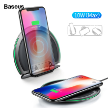 Baseus 10W Qi Wireless Charger For iPhone 11 Pro Foldable Th