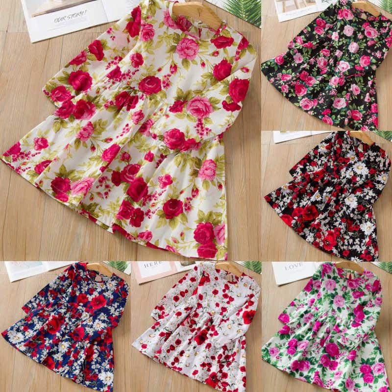 Sukienka dla dziewczynki dla dzieci śliczna dziecięca sukienka bez rękawów z nadrukiem bawełniana i lniana sukienka kwiatowa dla dziewczynki wiosna dla dzieci sukienki dla dziewczynek