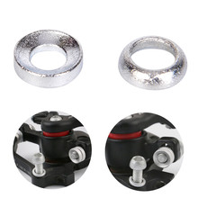 2 Pcs Bicycle Brake Caliper Spacer Joint Washer Aluminum Mountain Cycling Accessories