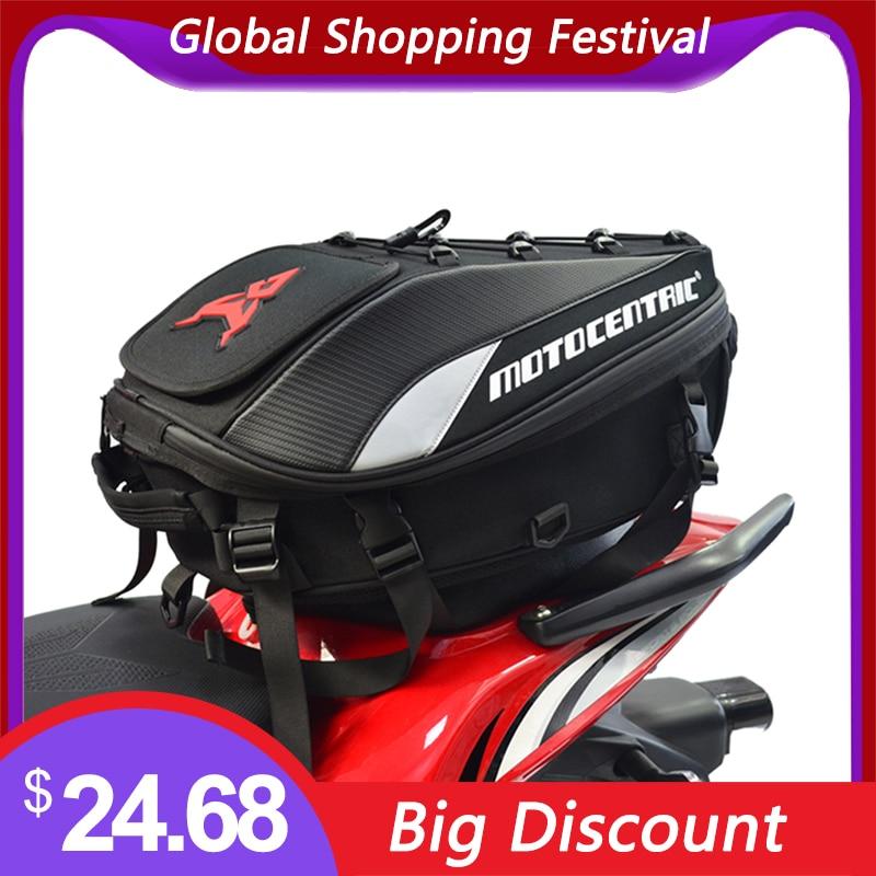Новый Водонепроницаемый Мотоцикл Хвост сумка мульти-Функциональные Прочный заднего сиденья мотоцикла сумка высокого Ёмкость мотоцикла рю...