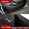 Аксессуары Heenvn Model3 для автомобиля Tesla Model 3 2021, Защитная пленка для двери автомобиля, Защитная пленка с боковыми краями, защитные наклейки три