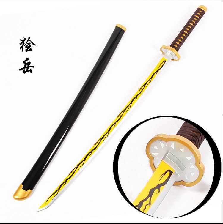 Accessoire épée Kimetsu No Yaiba pour Cosplay diable pour armes, en bois, tendance, pour Cosplay, démon, Ninja Katana
