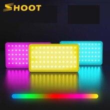 לירות 4000mAh RGB Protable צילום אור CRI 95 + 360 ° מלא צבע LED וידאו אור עבור Youtube חי מצלמה ירי סטודיו