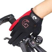 Sponge-Pad Bicycle-Gloves Women Road Anti-Slip Sports-Bike Motorcycle Full-Finger Shockproof