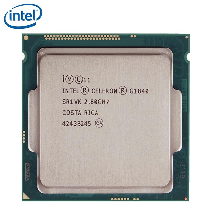Intel Celeron G1840 2.8GHz 2M Cache Dual-Core CPU Processor SR1VK SR1RR 53W LGA 1150 Tray tested 100% working 1