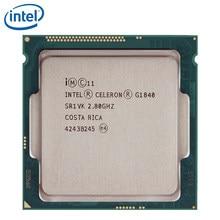Intel celeron g1840 2.8 ghz 2 m cache processador cpu duplo-núcleo sr1vk sr1rr 53 w lga 1150 bandeja testado 100% trabalho