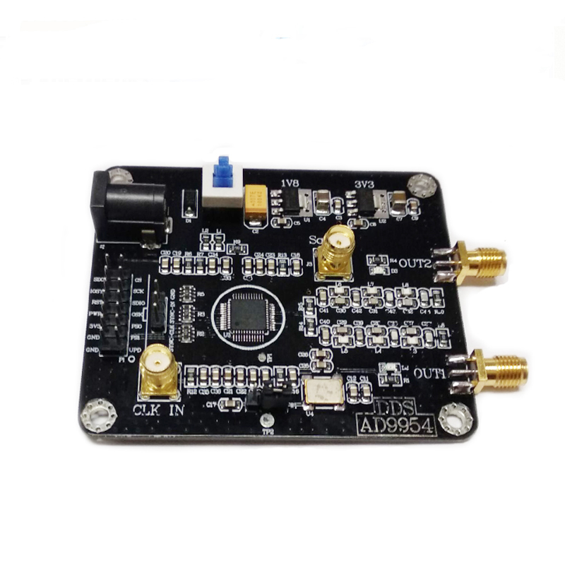 Image 4 - AD9954 module DDS signal generator module sine wave square wave RF signal source 400M frequency development Function demo board-in Demo Board Accessories from Computer & Office