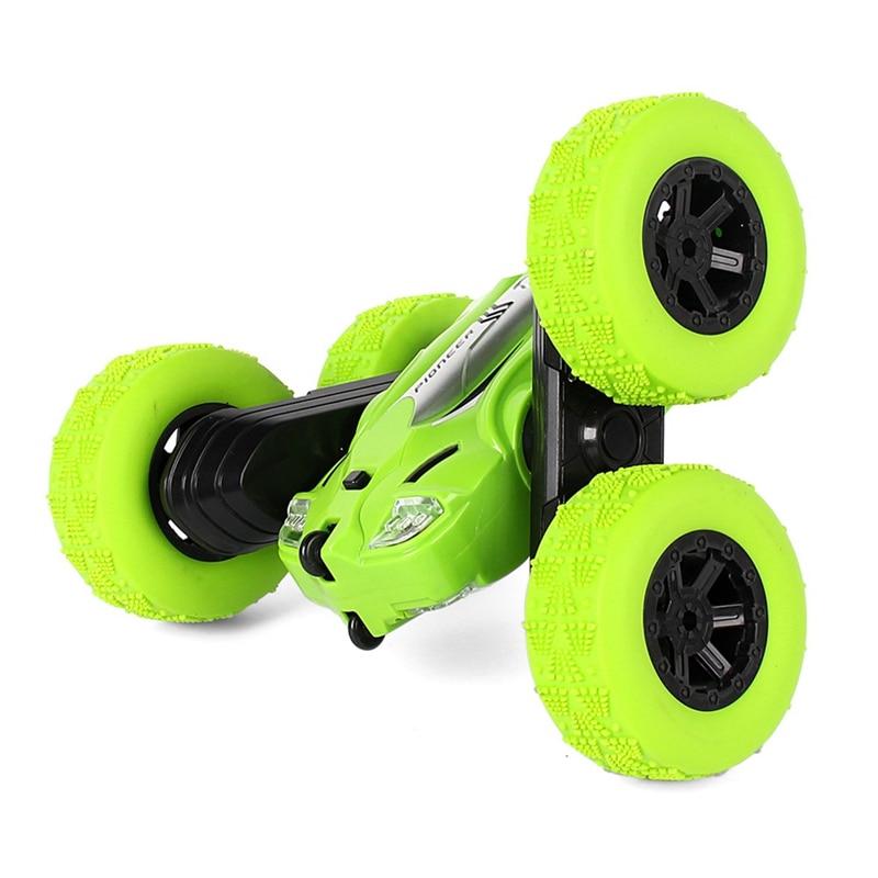 Rc автомобиль высокой скорости 3D флип пульт дистанционного управления автомобиль дрейф Buggy Crawler на батарейках каскадер машина Радиоуправляе...